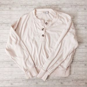American Eagle Outfitters Henley Sweater